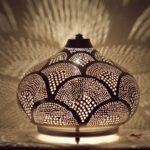 Oriental floor lamp Isra v4