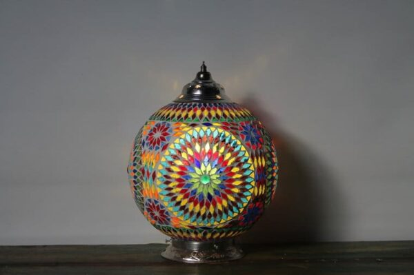 Mosaic table Lamp Misbah L v3