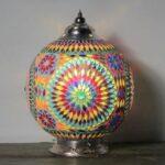 Mosaic table Lamp Misbah L
