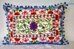 Buy Oriental Pillow White Damali 50 x 35