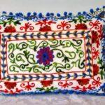 Oriental Pillow Damali White 50 x 35
