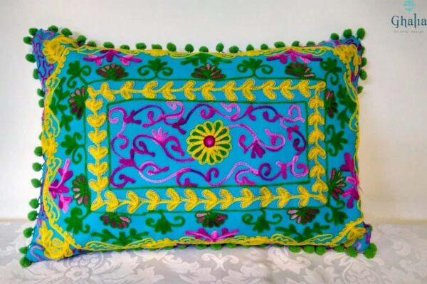 Oriental Pillow Damali Azur