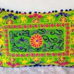 Oriental Pillow Damali Green 50 x 35