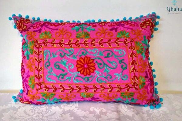Buy Oriental Pillow Pink Damali 50 x 35