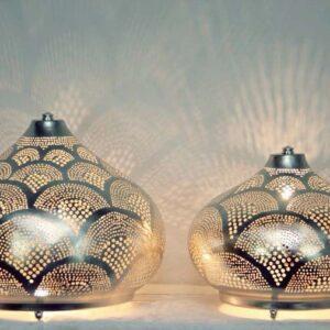Buy Oriental Floor Lamp Isra | Egyptian Filigree Floor Lamp