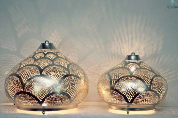 Buy Oriental Floor Lamp Isra   Egyptian Filigree Floor Lamp