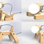 best Dog Lamp Wood