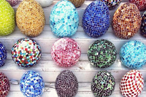 best Egg Mosaic Lamp