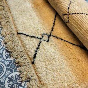 buy Handmade Moroccan Berber Rug | Ouarain Berber Rug Razi