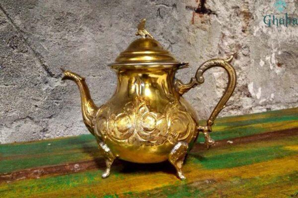 buy Moroccan Brass Teapots