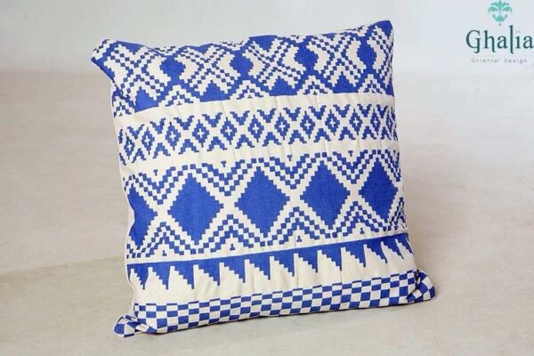 Pillow Nagiba 50 x 50 | Blue Cushion Covers 50x50