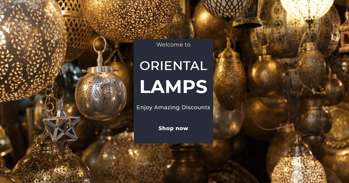 Oriental Home Decor Buy Handcrafted Morocco Lamp And Oriental Lamps