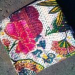 top quality Kantha Quilt Indian Floral