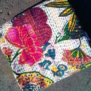 top quality Buy Indian Kantha Quilt Floral